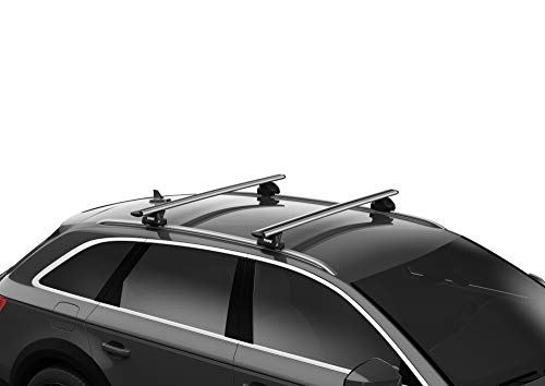 Thule 710600 Evo Flush Rail for Roof Racks - Pack of 4 Convertible Accessories Car Accessories