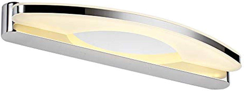 LED Metall Spiegel Scheinwerfer, Nordic Wei Acryl Beleuchtung Dekorative Hngelampe Wandleuchten Postmodern Schlafzimmer Bad Wasserdichte Wandlampen (Farbe   Weies Licht-39cm)