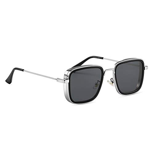 SIMSCO Metal Body Sunglasses Kabir Singh Sunglasses for Men and Women