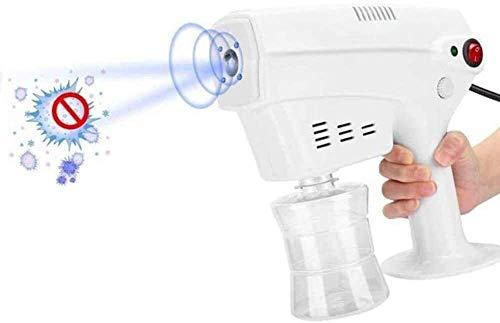 Byakns Pequeño contenedor desinfectante Nano Steam Pistola de pulverización Hidratante Desinfección para el cabello y esterilización Máquina de pulverización para el cabello para la oficina de salón C