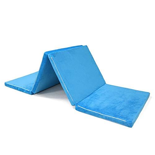 XMSIA Colchoncillo Despliegue de visitantes Silla Z Cama Plegable colchón Playmat portátil...