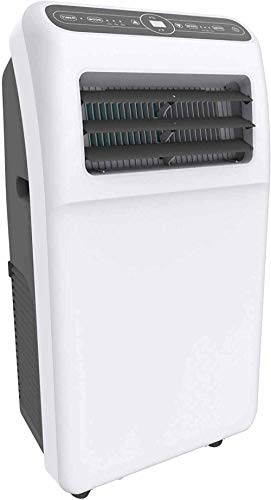 Portable Air Conditioners 10,000 BTU with Built-in Dehumidifier Function, Quiet AC Unit Cools Rooms to 201 sq.ft, Fan Mode, LED Display, Remote Control, Complete Window Mount Exhaust Kit