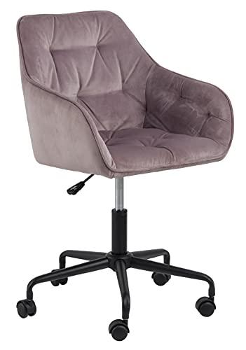 Sedia da ufficio Bridget – Rosa antico