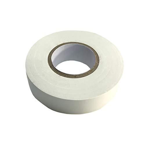 Isolierband Weiß Klebeband, wasserdicht, feuchtigkeitsbeständig, nicht leitend, UV-beständig, 1 rolle 15 mm x 20 m, stark klebendes