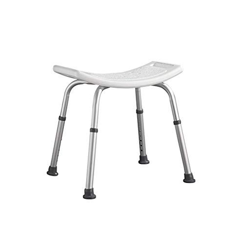 ZXY-NAN Bathroom Wheelchairs Bath seat Height Adjustable Shower Stool, Bathroom Seat, Shower Chair, Bathing Aid for Elderly, Disabled, and Handicapped Bath Stool,Bathroom,Terrace