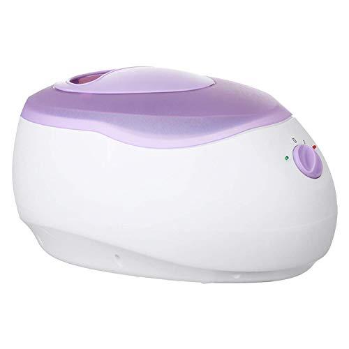 Maquina de Cera Parafina Terapia Bañera Olla de Cera Más cálido Belleza Salón Equipo SPA 2 Nivel Controlar Maquinas Protección de la Piel Herramienta Calentador de Cera Purple-2700cc