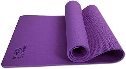 HAOSHUAI Grote dikke antislip yoga mat, verbreding verdikking antislip fitnessmat milieubescherming smaakloze yogamat (kleur: 3) 1 beste gift oefening, ook voor oefening/sportschool/camping, enz