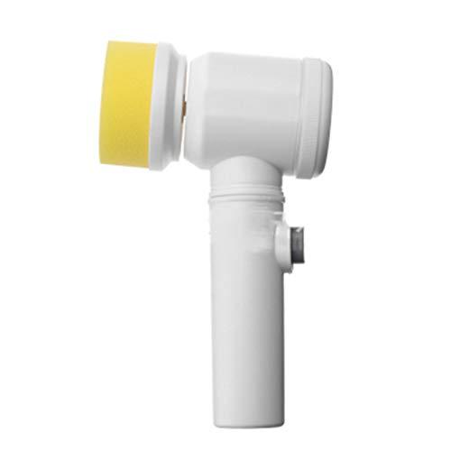 Spin Scrubber,Mini Spin Scrubber,Cepillo de Limpieza Eléctrico Multifuncional,para Limpiar Baño,Piso,Azulejo,Esquinas,Cocina
