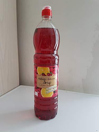 6 Flaschen Spitz Sirup Fruchtsirup 1,5 Liter (Himbeer-Zitrone)