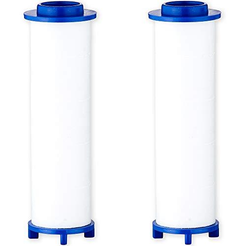 【日本製】日丸屋製作所 交換用カートリッジ シャワーヘッド用 塩素除去 浄水フィルター 2本セット(6ヵ月分)