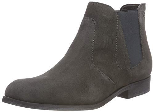 s.Oliver Damen 5-5-25340-21 Chelsea Boots, Grau (Anthracite 214), 39 EU