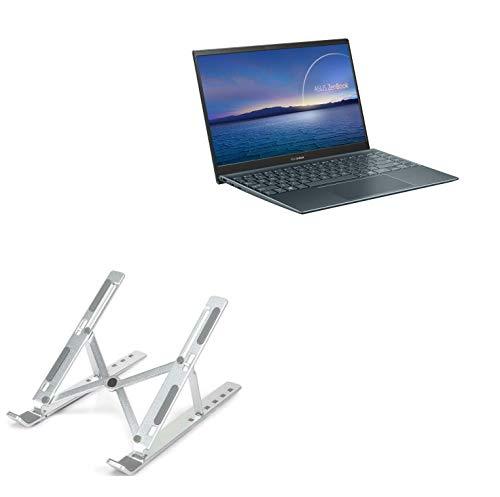 Suporte e suporte BoxWave para ASUS ZenBook 14 UM425UA [suporte compacto QuickSwitch] Portátil, suporte de visualização em vários ângulos para ASUS ZenBook 14 UM425UA - prata metálica