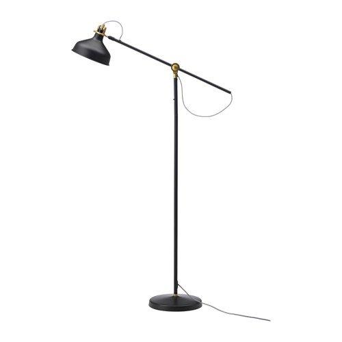 IKEA RANARP suelo lámpara de lectura negro 003.313.83