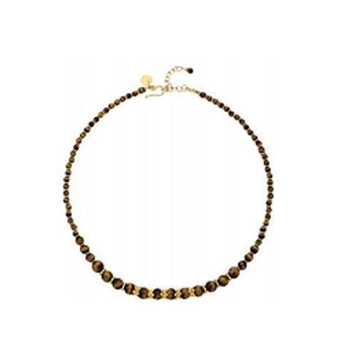 Der Museum Steckdose–Griechisch Tiger 's Eye Halskette