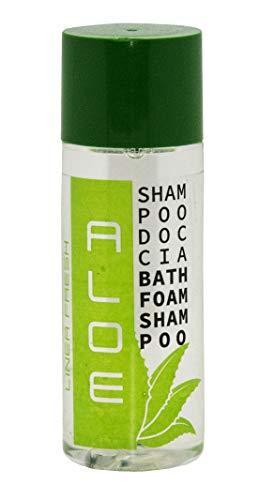 Shampoo doccia, cortesia hotel, 100 flaconi da 30 ml fragranza Aloe