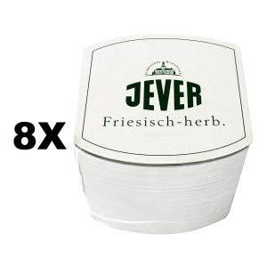 Jever Bierdeckel Untersetzer 8 x 70 Stück = 560 Stück