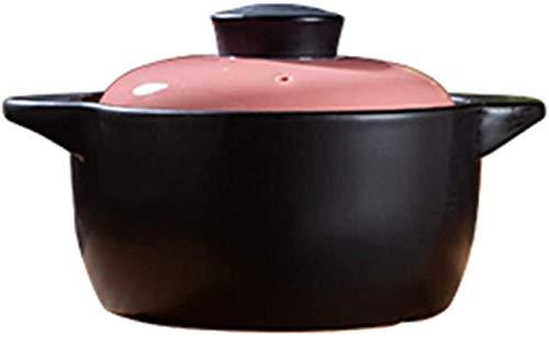 HYYDP Cacerolas Guiso Pote Cazuela Platos Casserole Platos con párpados - Casserole Stef Stef Pot Cerámica Sopa Pot Sopa Hogar Abrir Llama Alta Temperatura Crock Crock Pot (Size : 4.5L)