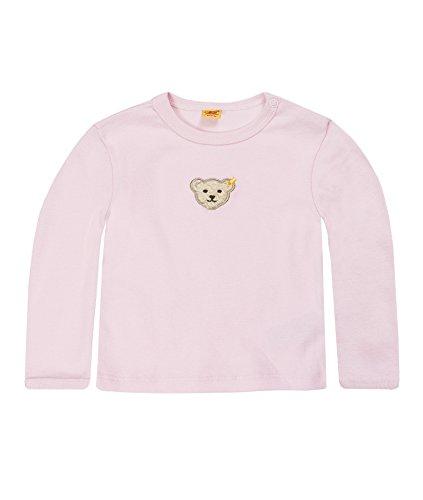 Steiff Unisex - Baby Sweatshirt 0006671, Gr. 56, Rosa (2560)