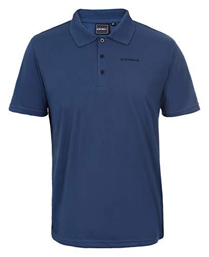 Icepeak Herren Polt Pique Polo Shirt, blau, XL