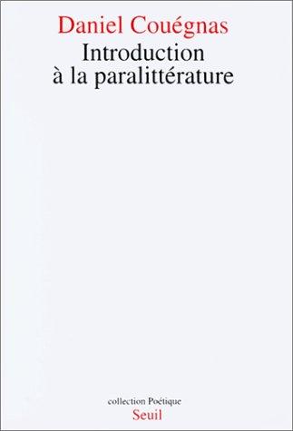 Introduction à la paralittérature
