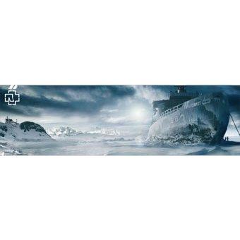 Rammstein Poster Rosenrot-Landschaft Mehrfarbig, Offizielles Band Merchandise Fan Plakat