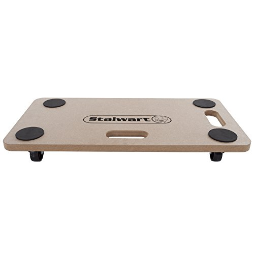 Stalwart 75-MOV1002 Wheeled Furniture Mover Dolly, Multi Purpose Roller for Moving Heavy Objects with 440 lb Weight Capacity