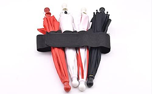 SUMAG Trucos mágicos Sombrilla Producción Elástico Paraguas Faja (Dos Tipo disponible) Accesorio Mago Etapa Ilusión Mentalismo Gimmick (versión de Velcro)