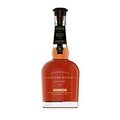 Woodford Reserve Master´s Collection Batch Proof - 62,9% Volume Bourbon Whiskey (1 x 0.7l)