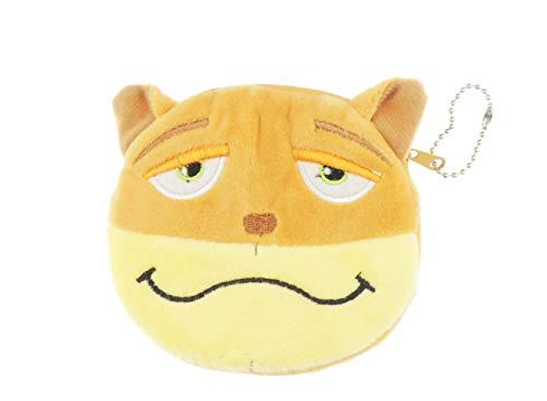 Schattig zacht gevoel pluche ronde Kitty kat kitten varken koe gezicht munt portemonnee sleutelhanger cadeau idee voor meisjes
