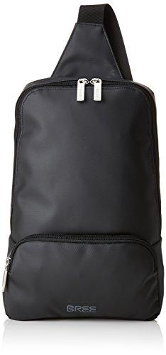 BREE Unisex-Erwachsene Punch 721, black, body bag Umhängetasche Schwarz (black)