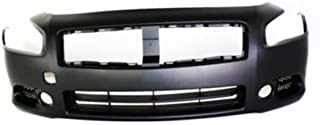 CPP Primed Front Bumper Cover Replacement for 2009-2014 Nissan Maxima