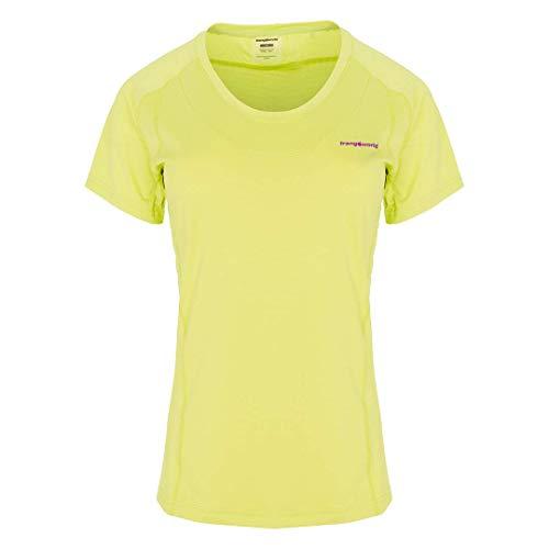 Trangoworld Bocela T-Shirt Femme, Jaune-Vert Lime, S