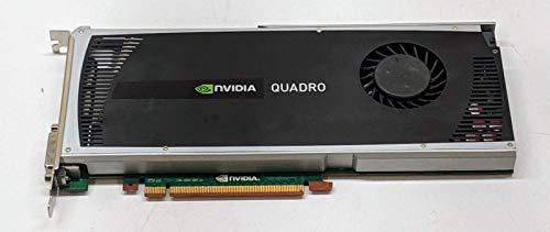 PNY Tarjeta gráfica Nvidia Quadro 4000 (2 GB GDDR5, PCI-E x16) (reacondicionada)