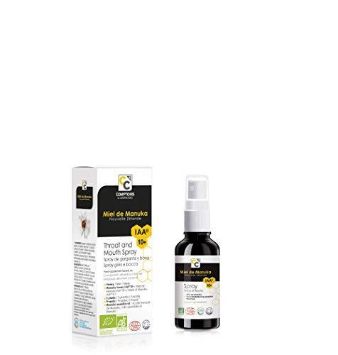 Comptoirs et Compagnies Bio IAA10 Manuka Honig Nase und Sinus Spray, 15 ml