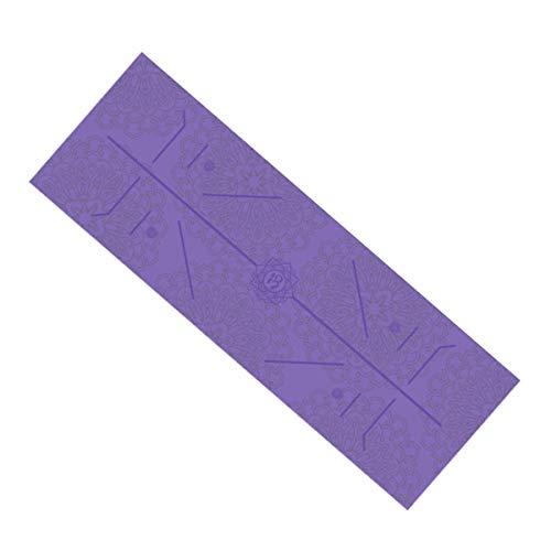 Fansu yoga towel viola (185 x 63 x 0,5 cm)