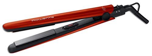 Rowenta SF1516F0 EASYLISS LIPSTIC - Plancha de pelo recubrimiento cerámico, calentamiento 1 min longitud del cable 1,8 m. Temperatura 200C Peinado perfecto y sencillo (Reacondicionado)