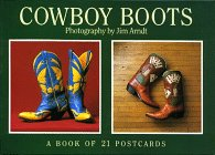 Cowboy Boots: A Book of 21 Postcards