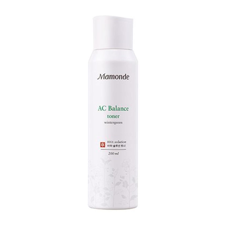 非互換カバレッジ医学[New] Mamonde AC Balance Toner 200ml/マモンド AC バランス トナー 200ml [並行輸入品]