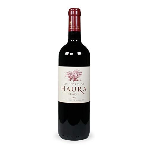 LES CEDRES DE HAURA 2016 Graves Bordeaux Vino Rosso 75 cl