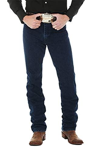 Wrangler Men's 0936 Cowboy Cut Slim Fit Jean, Dark Stonewash, 27W x 32L