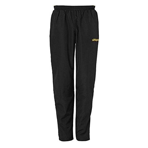 uhlsport 100515905 Pantalon Mixte Enfant, Noir/Limonenjaune, FR : XS (Taille Fabricant : 164)