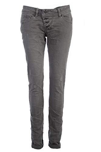 Buena Vista Damen Jeans Malibu Slim Fit grau (13) XS