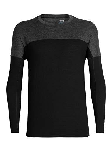Icebreaker Kinetica Long-Sleeve Crewe Shirt - Men's