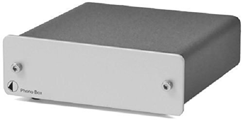 Pro-Ject Audio - Phono Box DC - MM/MC Phono preamp with line output - Silver