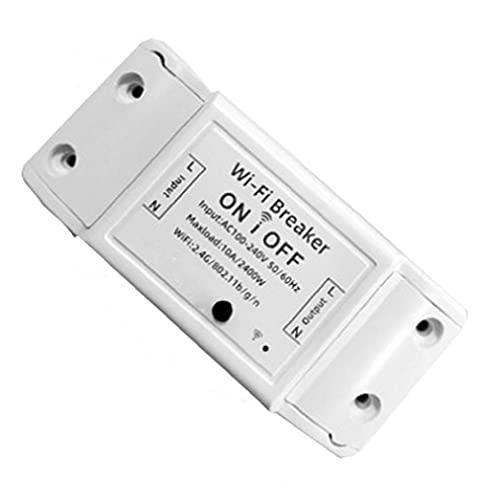 Inteligente WiFi conmutador inalámbrico remoto del interruptor de control del controlador WiFi para los electrodomésticos proporcionar seguridad