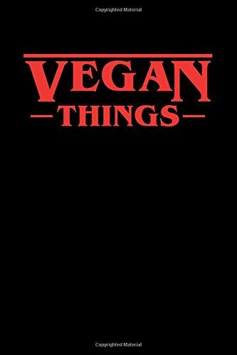 Vegan Things: Stranger Things Vegan Themed Black Composition