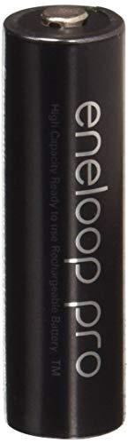 Eneloop Pro AA NiMH 2550mAh (Min. 2450mAh) Rechargeable Battery Pack of 2