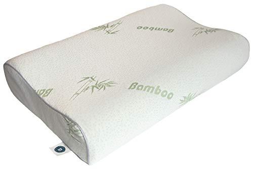 Bedtime Memory-Foam Kissen bei Nackenschmerzen | orthopädisches Kopfkissen mit viskoelastischen Schaum | 40x60 cm