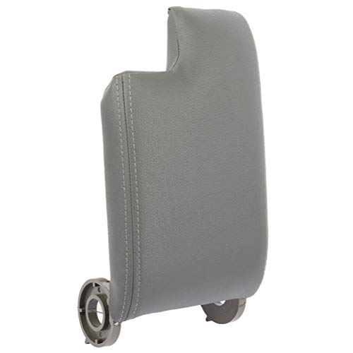 Aintier Gray Center Console Lid Compatible with 1999-2004 For BMW E46 3 Series Armrest Cover Repair Kit