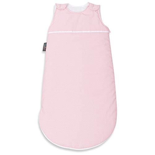 Sacco nanna per bebè - Materassino per neonati 100% cotone con imbottitura in poliestere e cerniera laterale - Coperta avvolgente indossabile - Morbida, comoda 38 cm x 75 cm